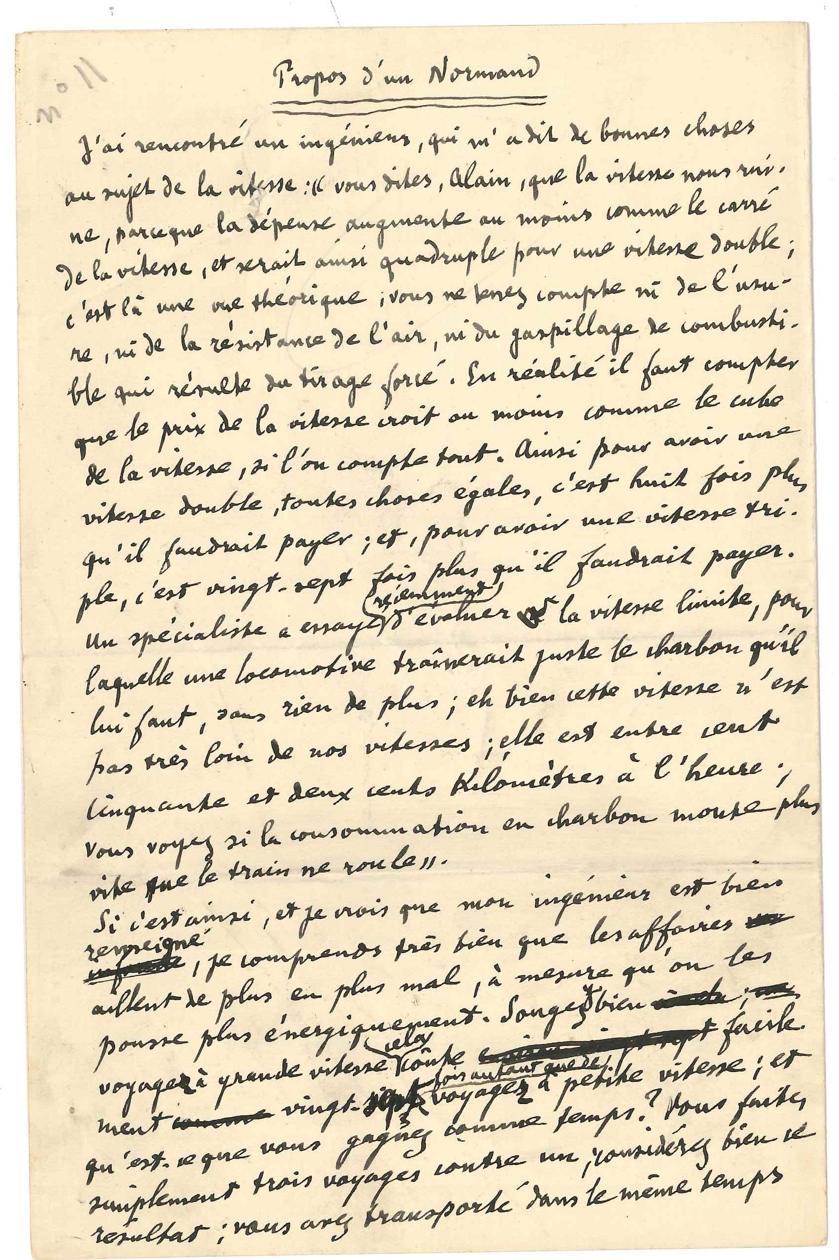 001. Émile Chartier dit ALAIN (1868-1951) philosophe Image