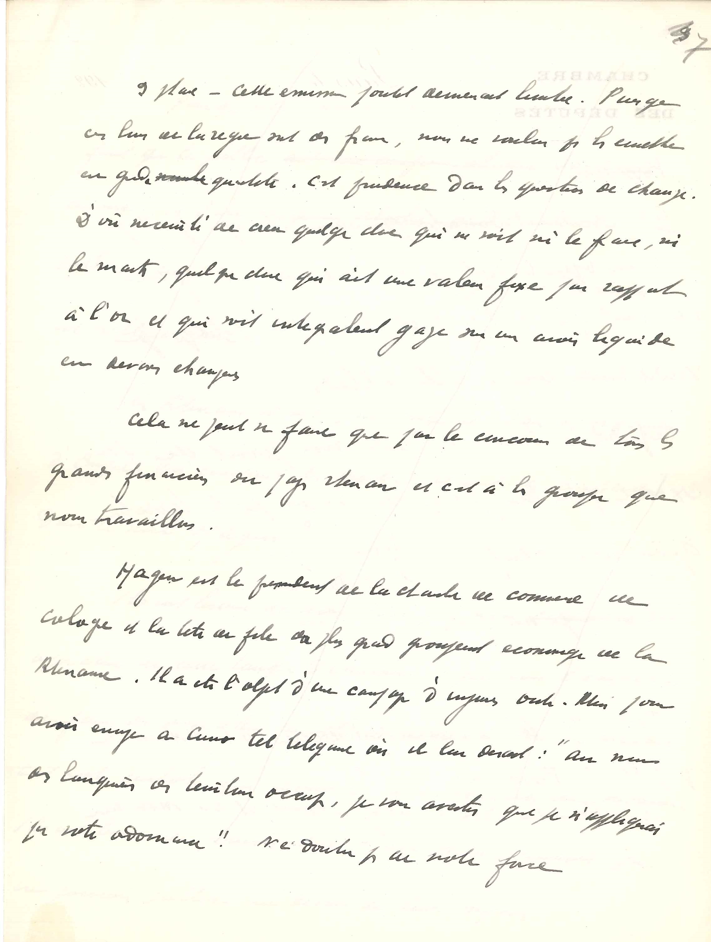 010. Maurice BARRÈS (1862-1923) écrivain Image