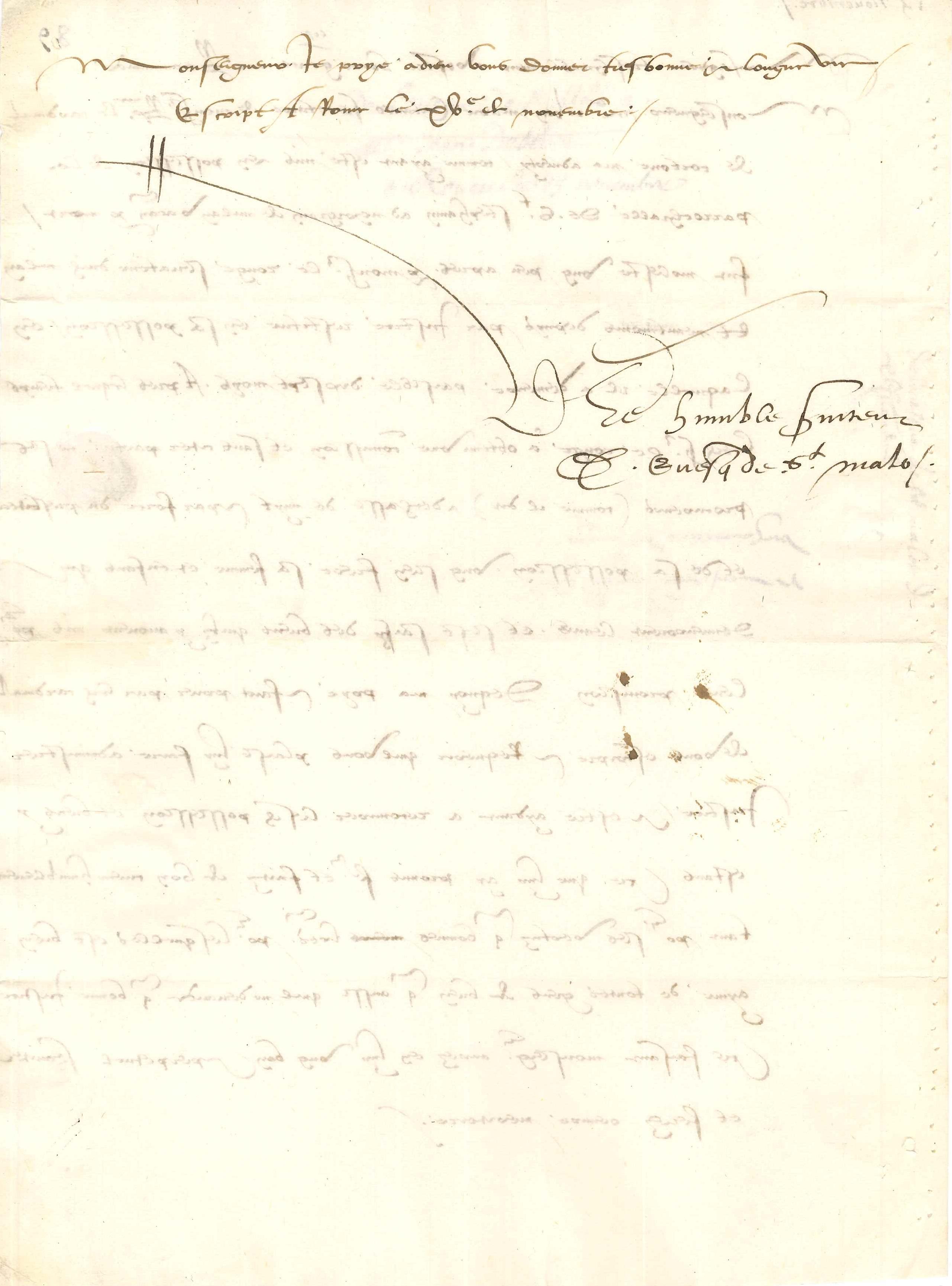 037. Denis BRICONNET (1473-1535) prélat et diplomate Image