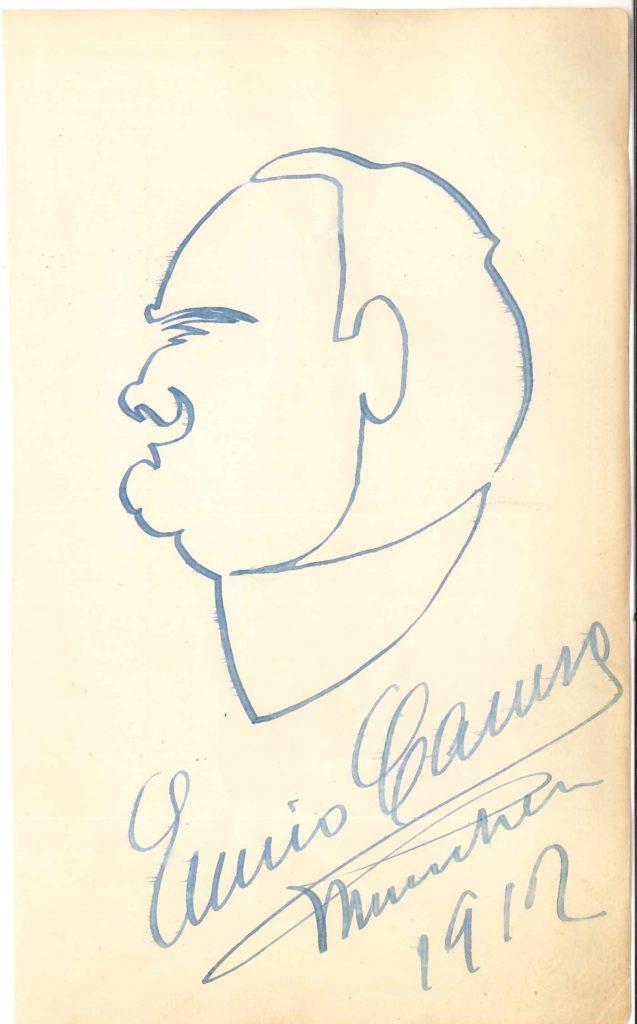 046. Enrico CARUSO (1873-1921) le grand ténor italien Image