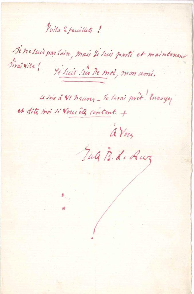 008. Jules BARBEY D'AUREVILLY (1808-1889) écrivain Image