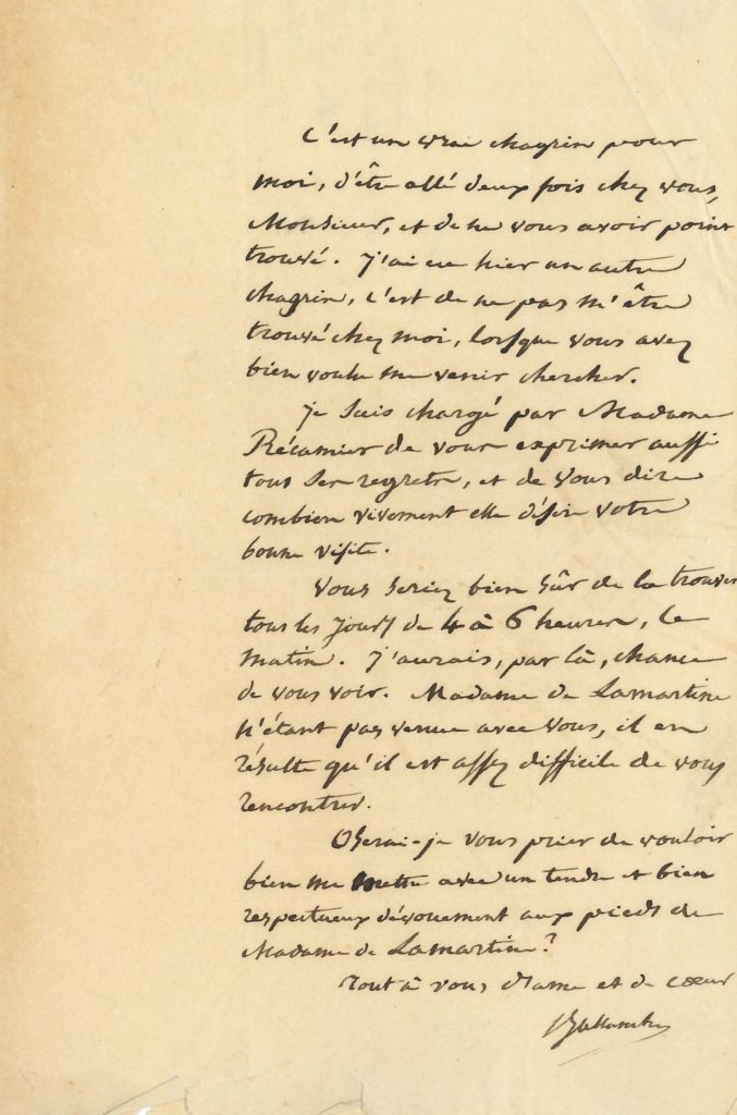 010 Pierre Simon BALLANCHE (1776-1847) écrivain et philosophe, ami de Mme Récamier Image