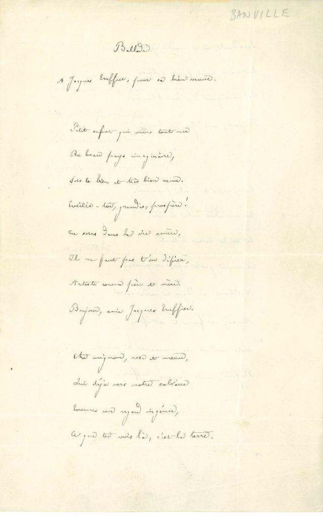 011 Théodore de BANVILLE (1823-1891) poète Image