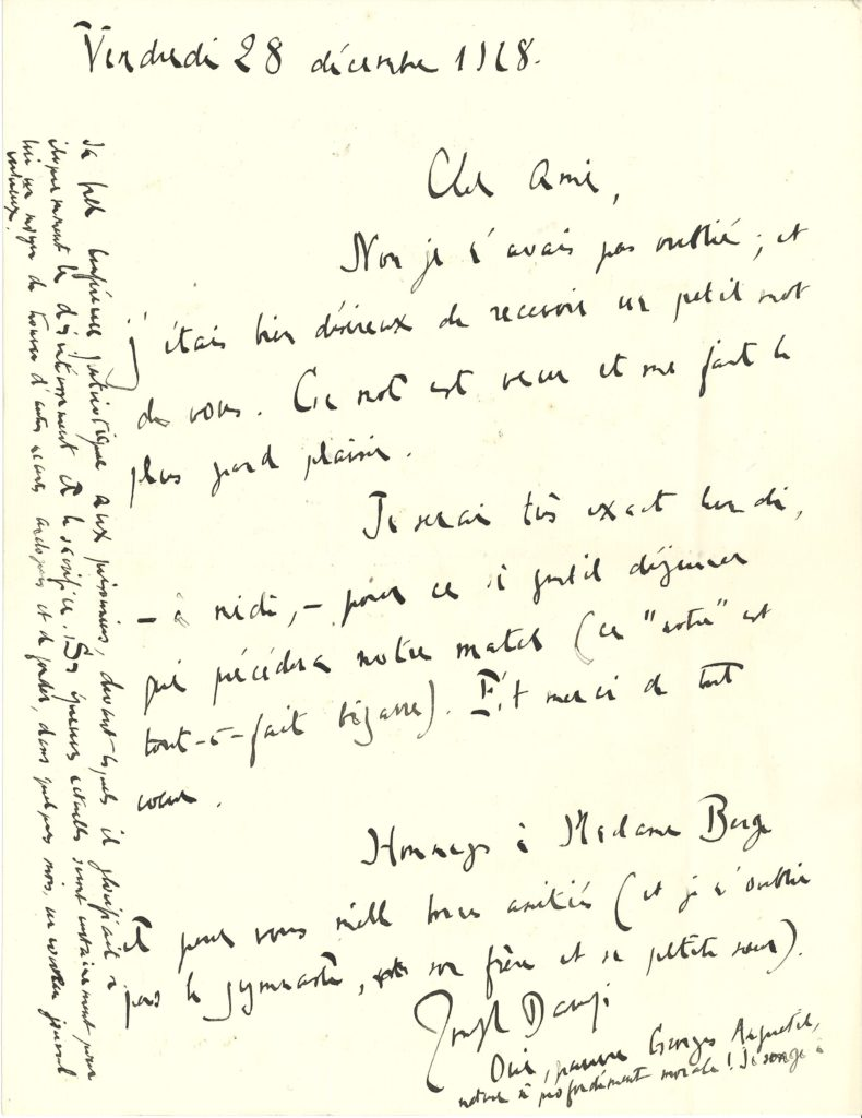 015 Joseph BARUZI (1876-1952) philosophe, poète et musicologue Image