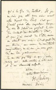 022 Hector BERLIOZ (1803-1869) compositeur Image
