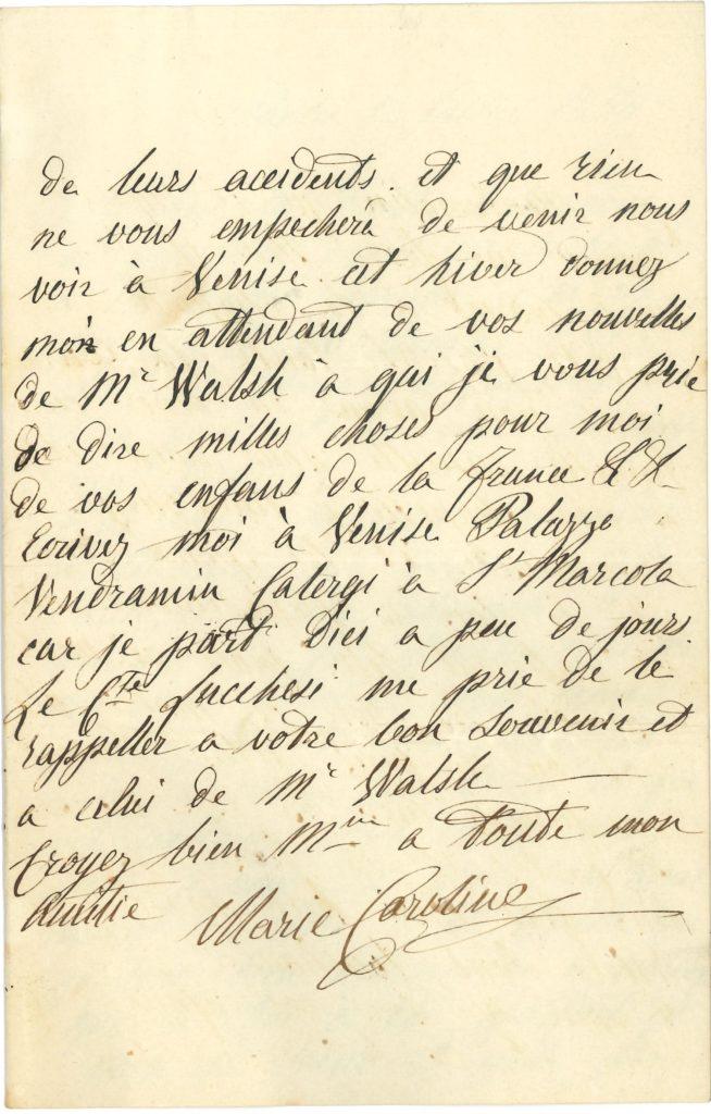 023 Marie-Caroline, duchesse de BERRY (1798-1870) fille du Roi des Deux-Siciles, épouse du duc de Berry, mère du comte de Chambord, elle tenta en 1832 de soulever la Vendée Image