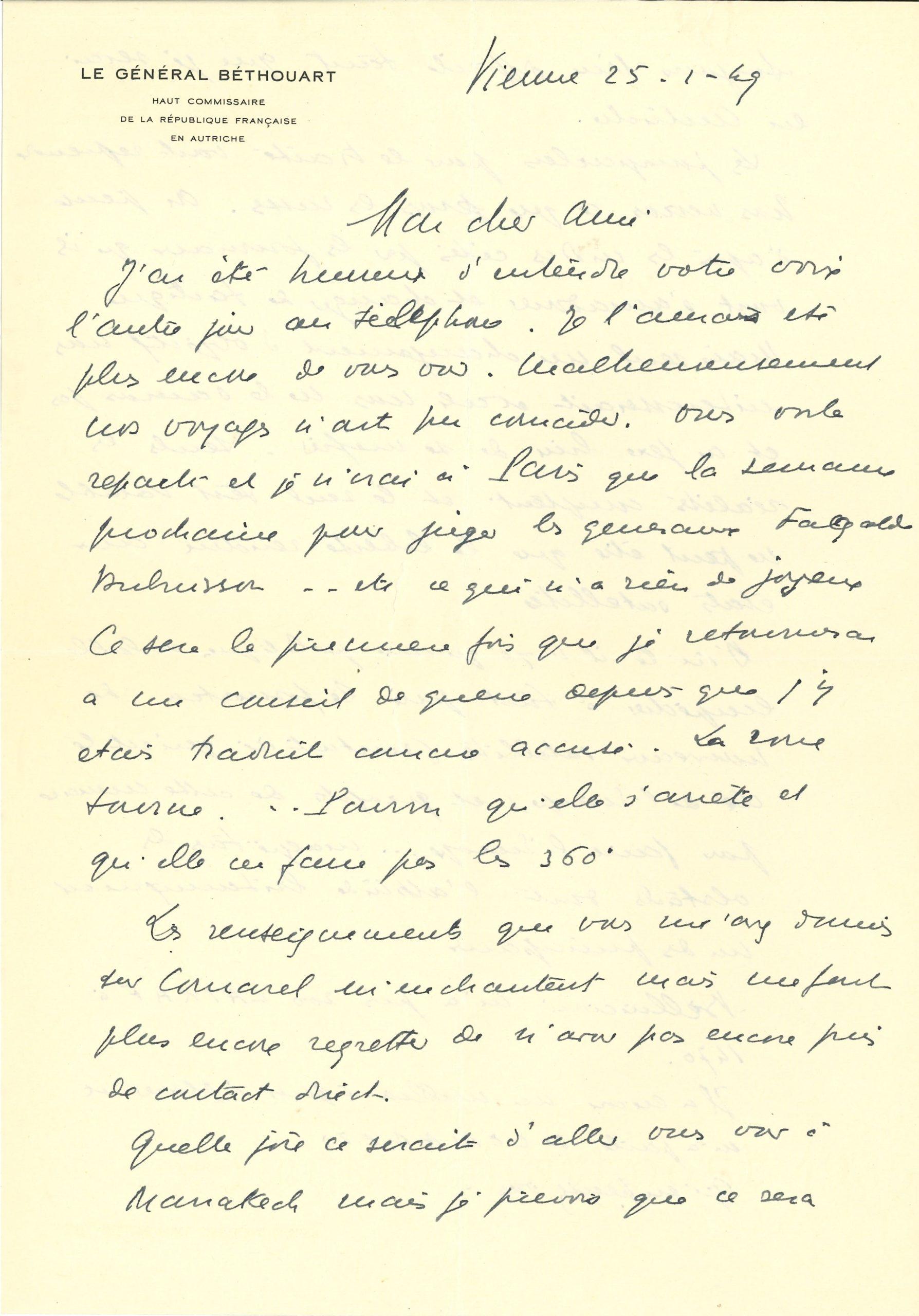 025 Antoine BÉTHOUART (1889-1982) général Image