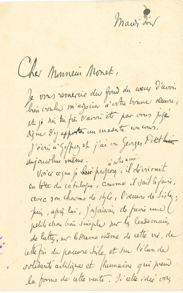 003 Arsène ALEXANDRE (1859-1937) journaliste et critique d'art, ami et défenseur des impressionnistes Image