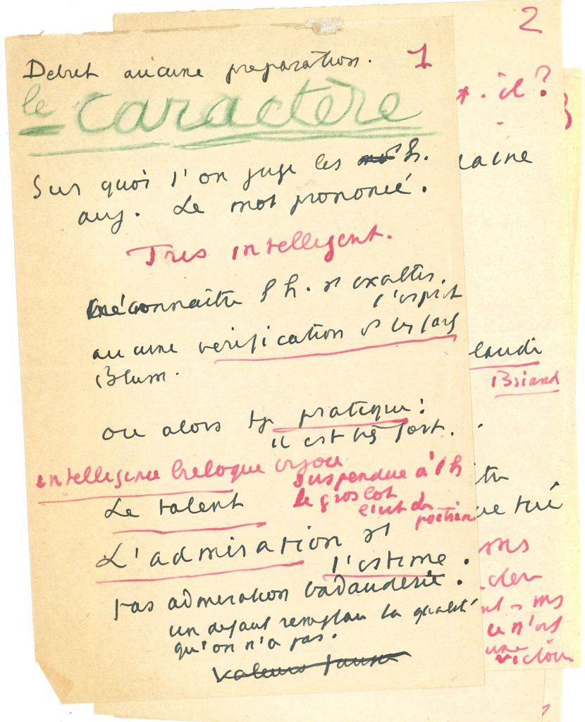034 Abel BONNARD (1883-1968) écrivain, ministre de l'Instruction publique du gouvernement de Vichy Image
