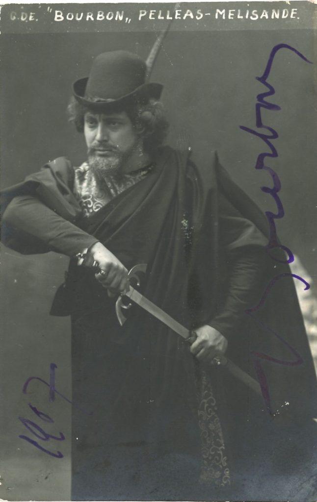 036 Jean BOURBON (1875-1948) baryton Image
