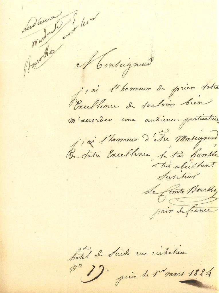 038 Jean-Raymond-Charles BOURKE (1772-1847) général et pair de France Image