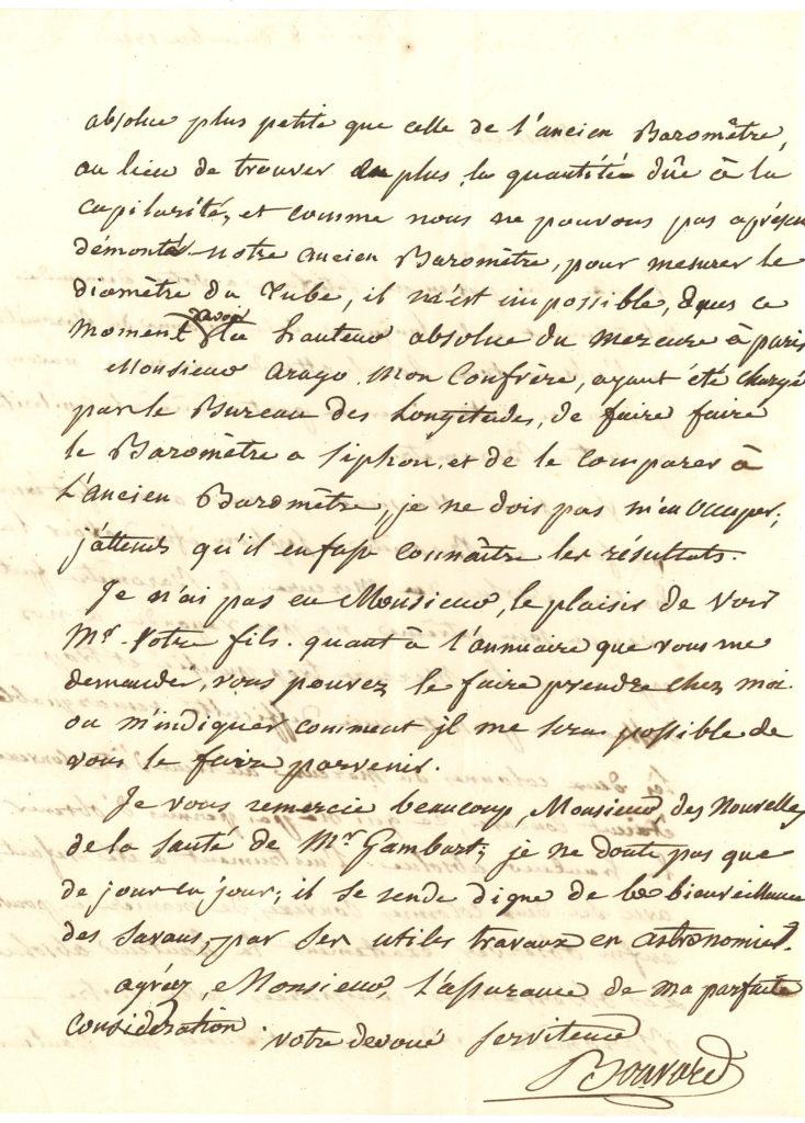 039 Alexis BOUVARD (1767-1843) astronome Image