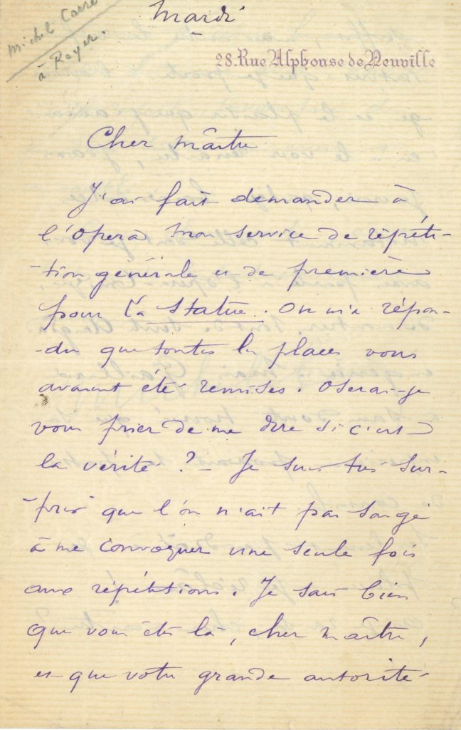 046 Michel CARRÉ (1819-1872) auteur dramatique, librettiste Image