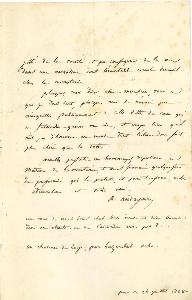 005 Alexandre ANDRYANE (1797-1863) homme politique; il participa à la tentative carbonariste d'insurrection de la Lombardie, et fut détenu neuf ans dans la forteresse du Spielberg Image