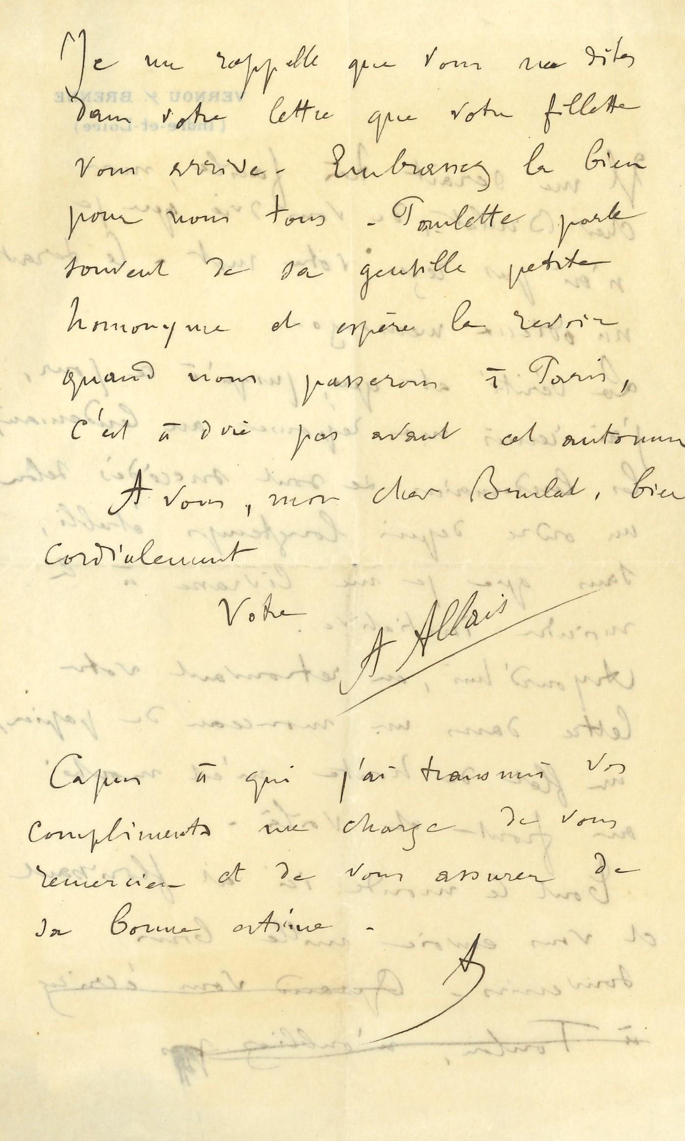 001 Alphonse ALLAIS (1855-1905) écrivain humoriste Image