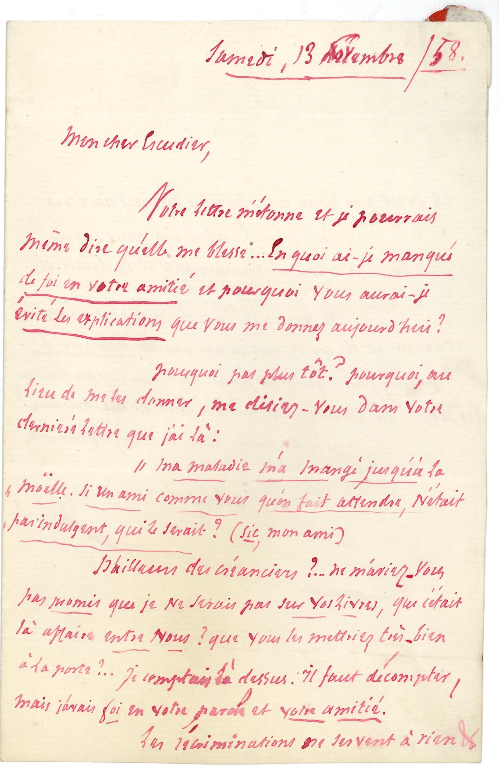 011 Jules BARBEY D'AUREVILLY (1808-1889) écrivain Image
