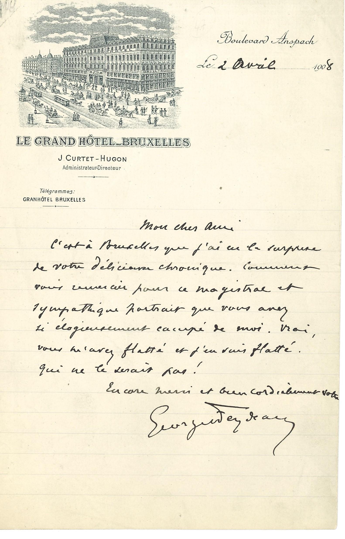 112 Georges FEYDEAU (1862-1921) auteur dramatique Image
