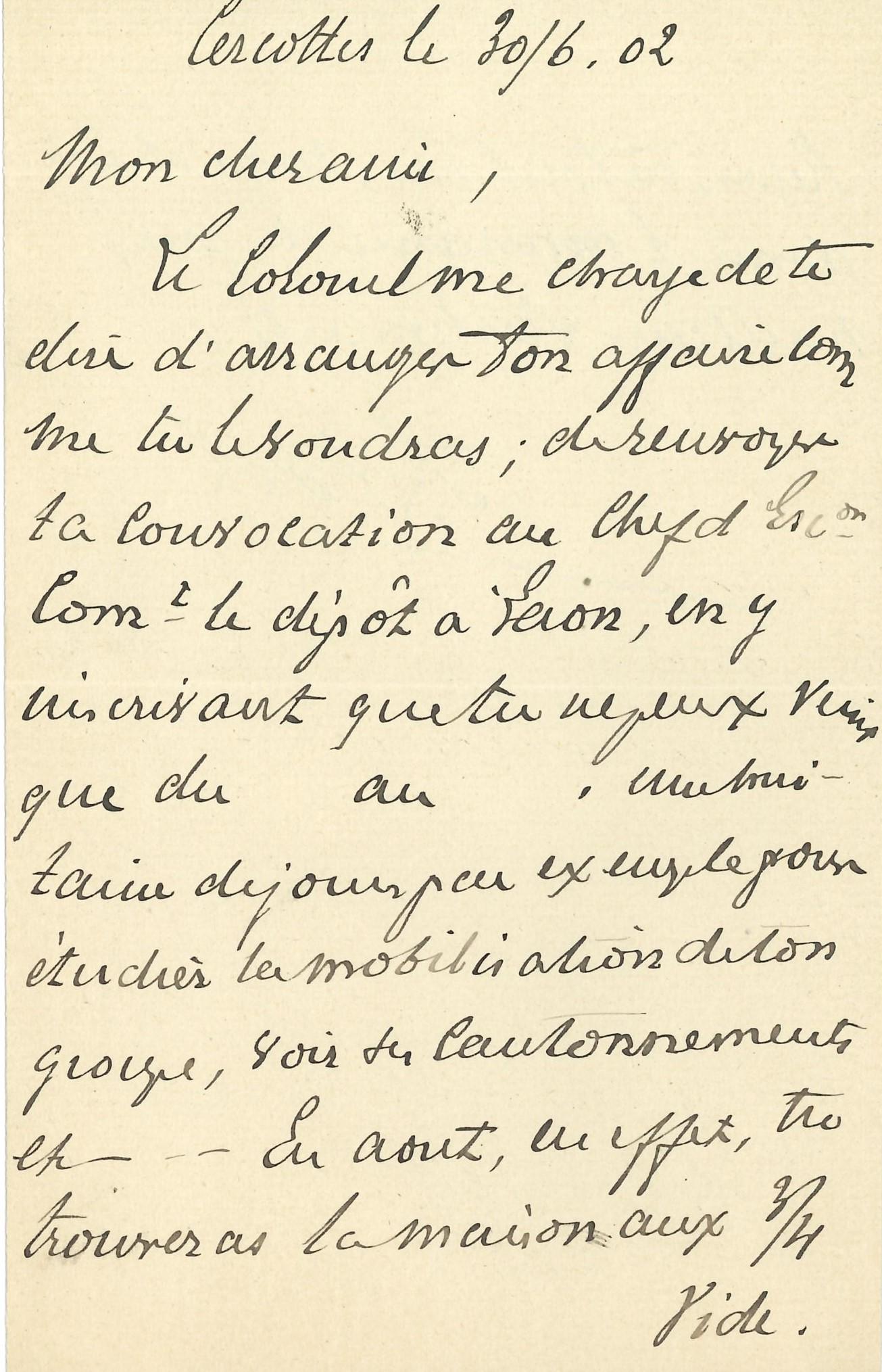 114 Ferdinand FOCH (1851-1929) maréchal Image