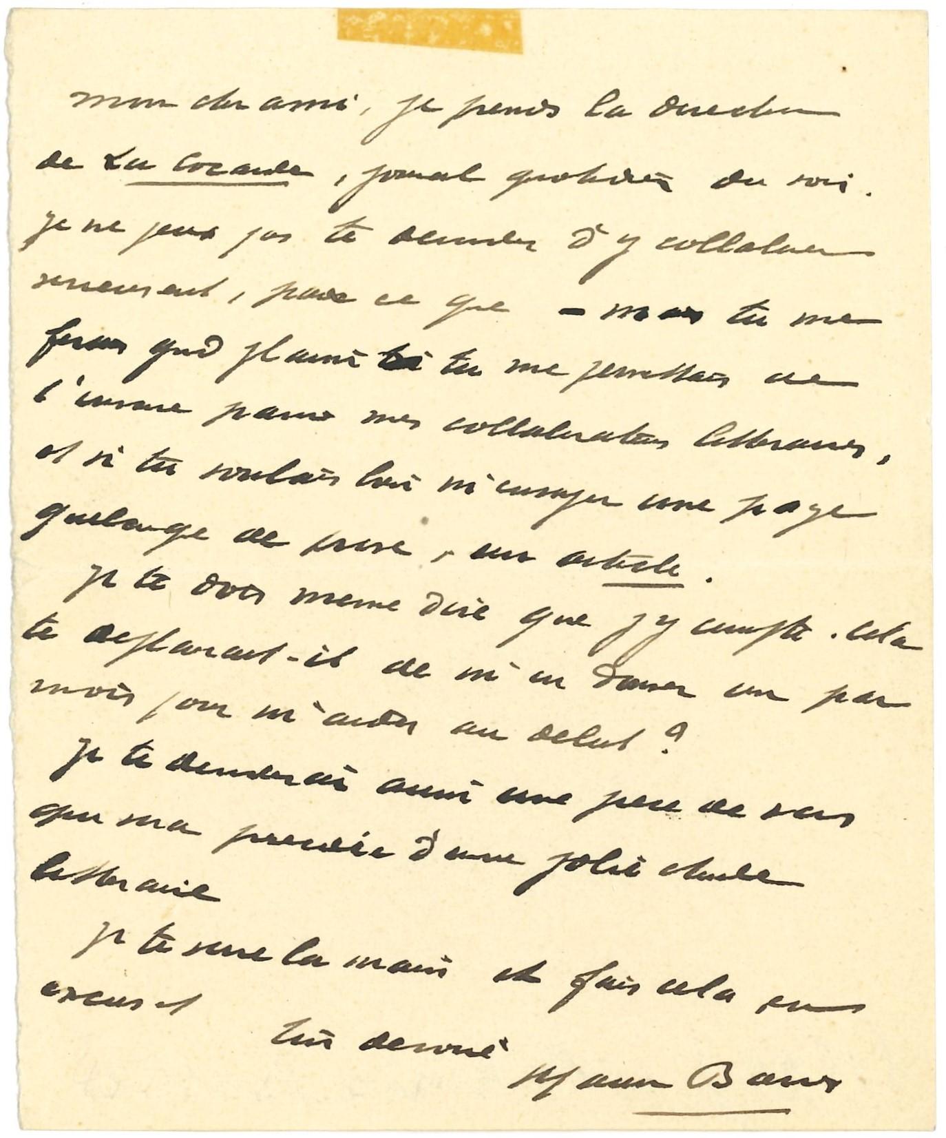 014 Maurice BARRÈS (1862-1923) écrivain Image