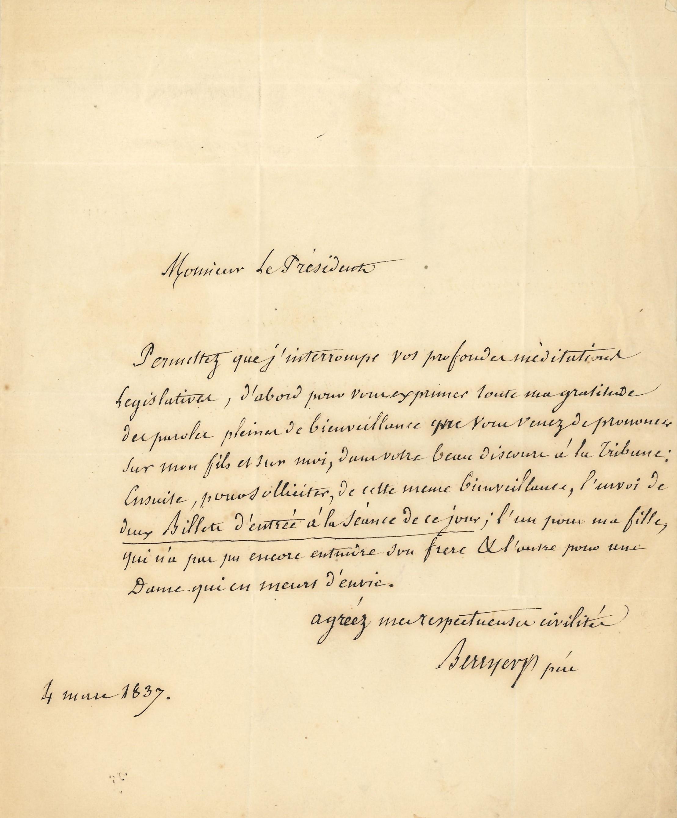 026 Nicolas BERRYER (1757-1841) avocat, défenseur du maréchal Ney, père du grand orateur Image