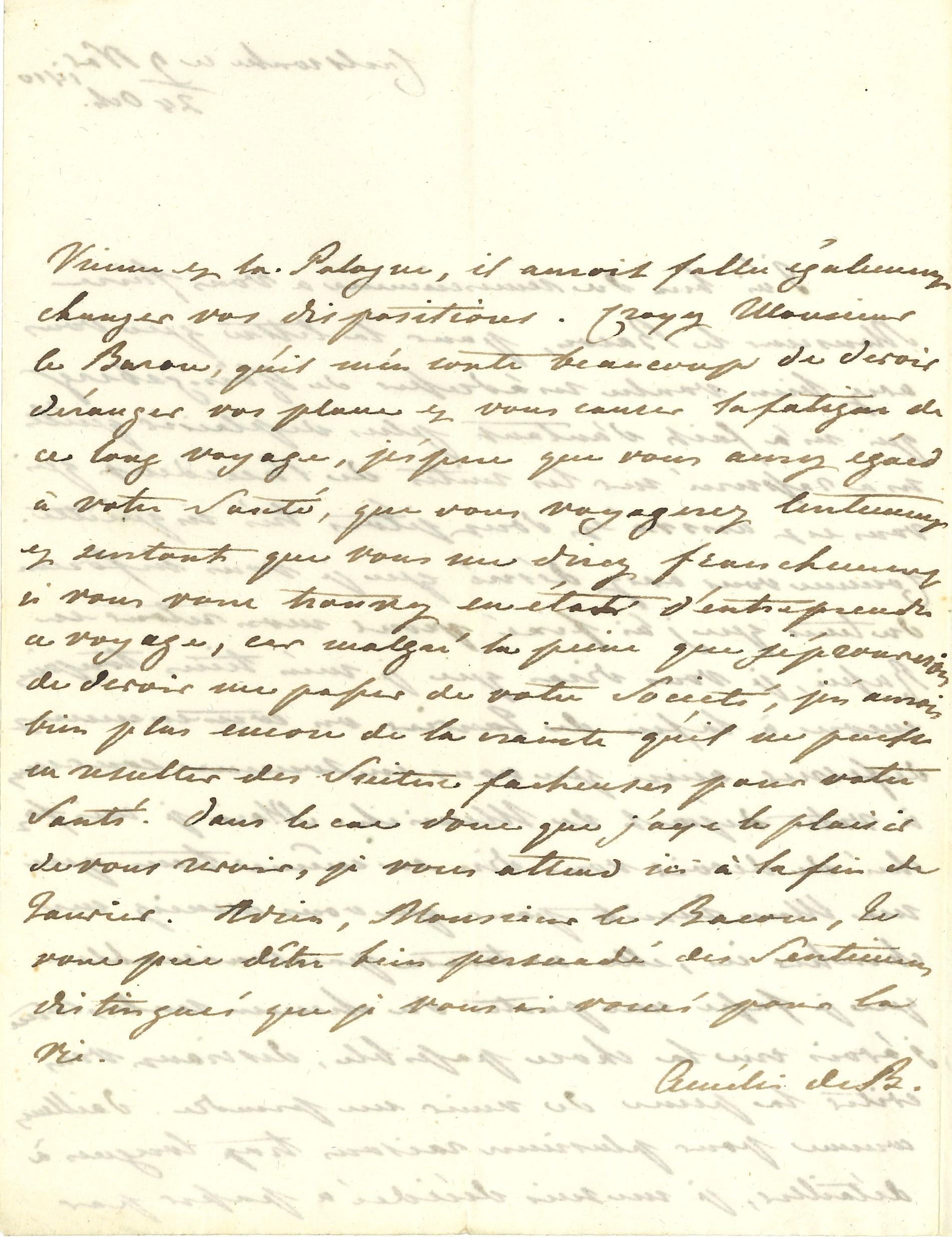 008 Amélie de BADE (1776-1823) fille aînée du prince Charles-Louis de Bade et d'Amélie de Hesse-Darmstadt, belle-sœur du Tsar Alexandre Ier, elle resta célibataire Image